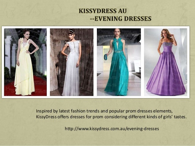 KissyDress's Evening Dresses Collection