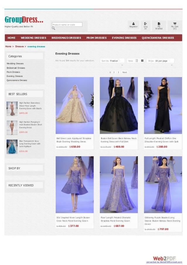 Evening Dresses Cheap at Groupdress.com