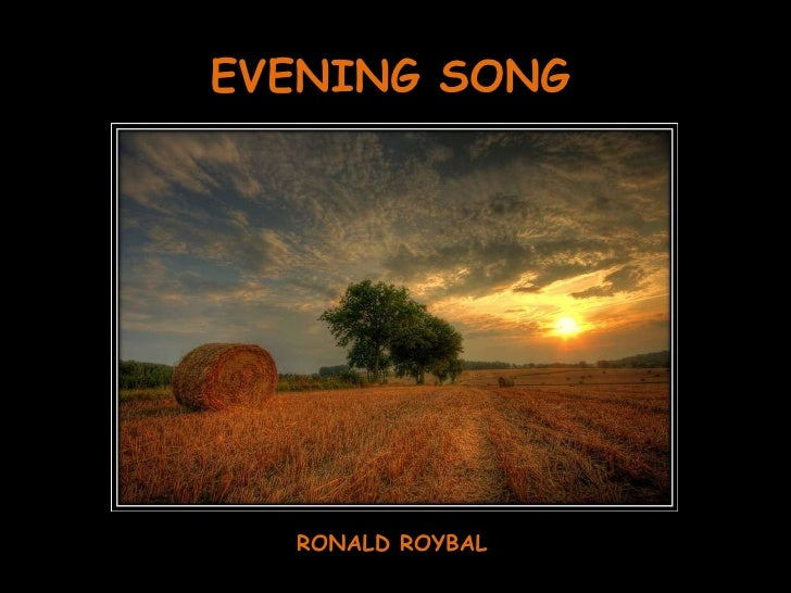 EVENING SONG RONALD ROYBAL
