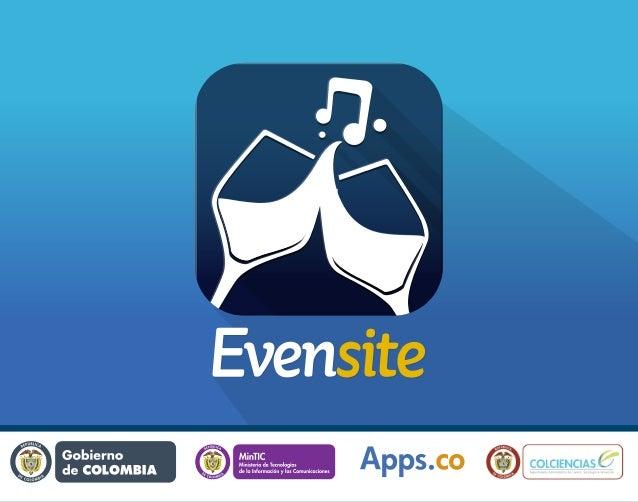 EvenSite - La aplicación de las fiestas colombianas