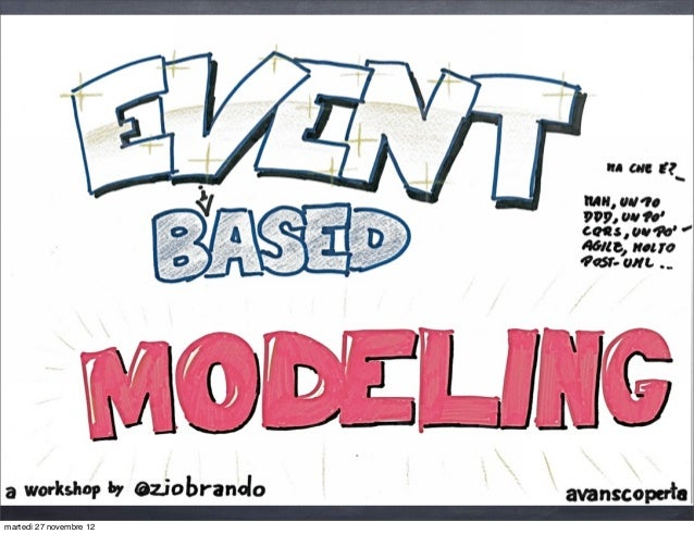 Event based modeling iad 2012