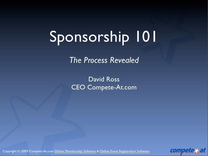 Event Sponsorship101