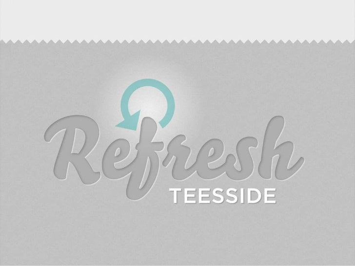 REFRESH TEESSIDE            Second Wednesday of every month.        Registration will be between 6 and 6.30pm.At 6.30pm th...