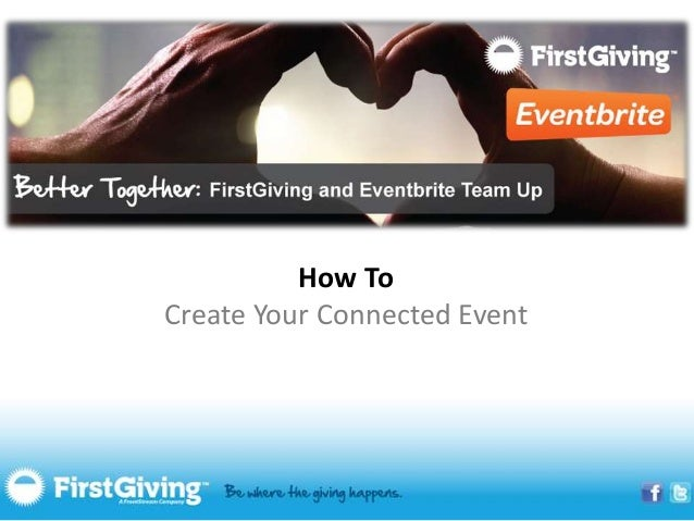 How ToCreate Your Connected Event