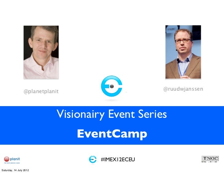 Event camp visionairy event series #imex2012