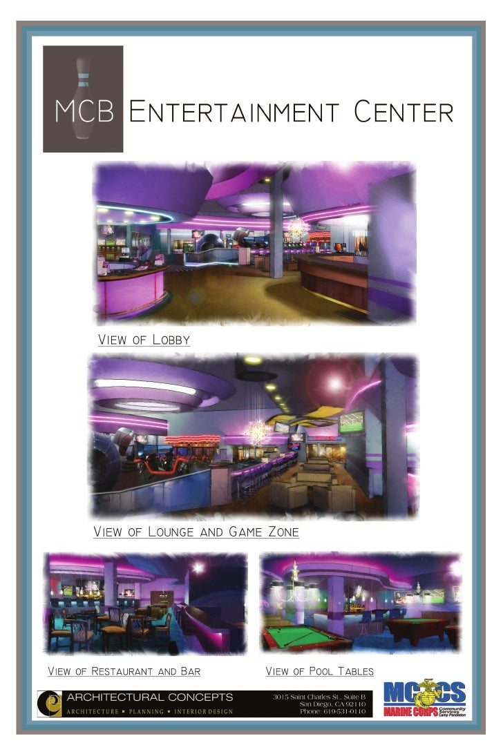 Entertainment Center 3 Lobby lounge and gaming / redemption center