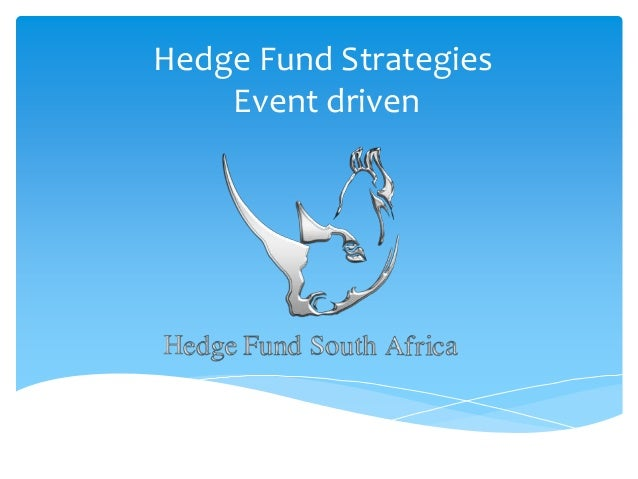 Hedge Fund Strategies Event driven