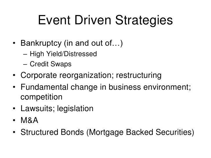 Mortgage Backed Securities Arbitrage