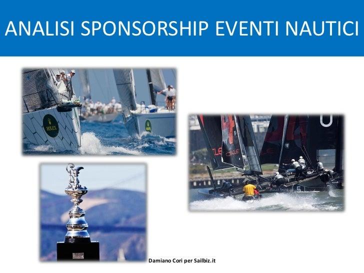 Analisi Sponsorizzazioni Eventi nautici sportivi