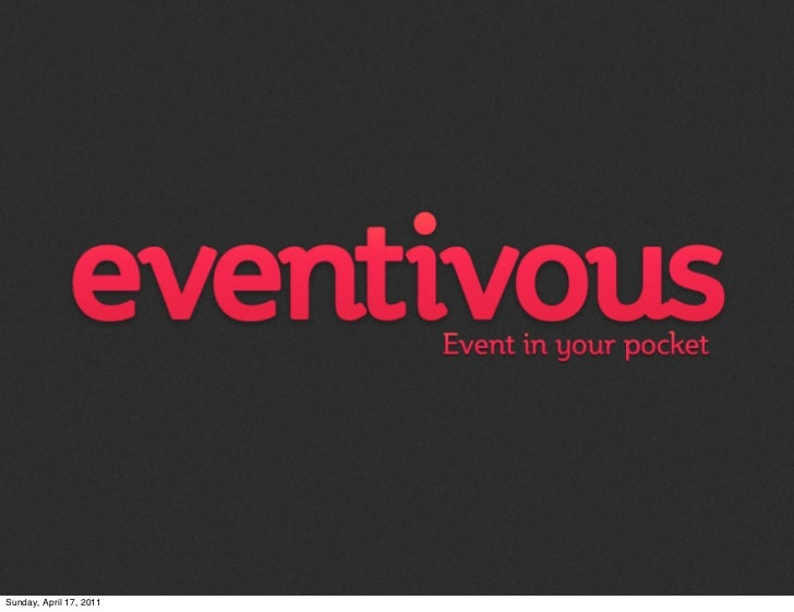 What is Eventivous?