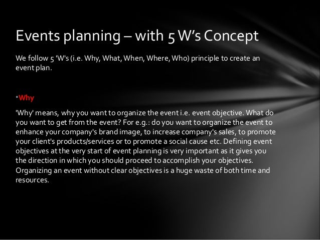 thesis on event management Event management 1 page | 1 11 introduction event management is the application of project management to the creation and development of festivals, events and conferences.