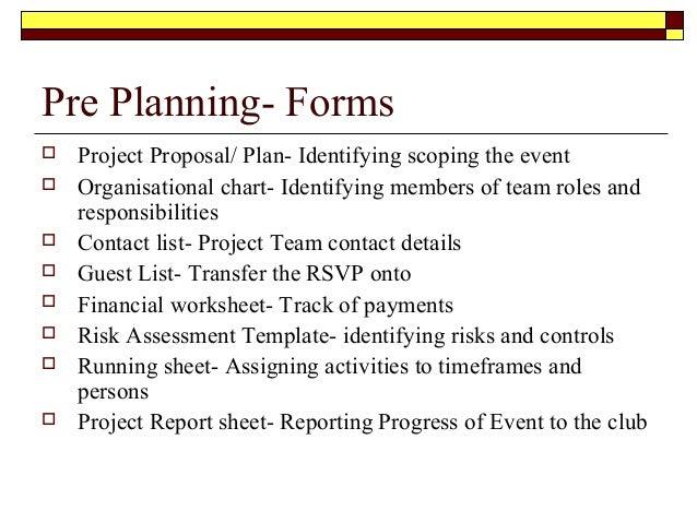 Proposal Event Planning Romeondinez