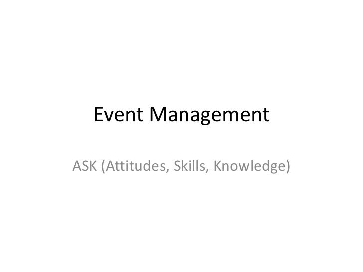 Event management   ask
