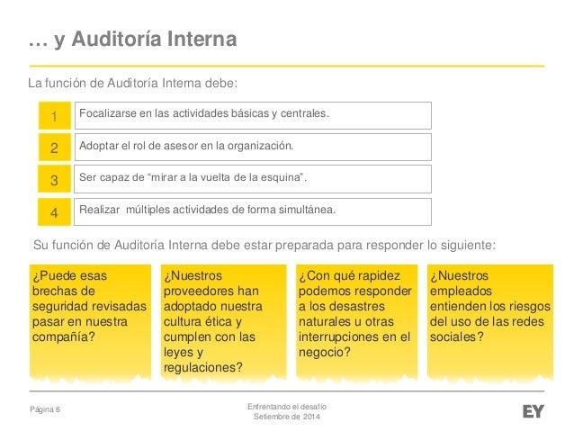 Auditoria Interna Funciones su Función de Auditoría