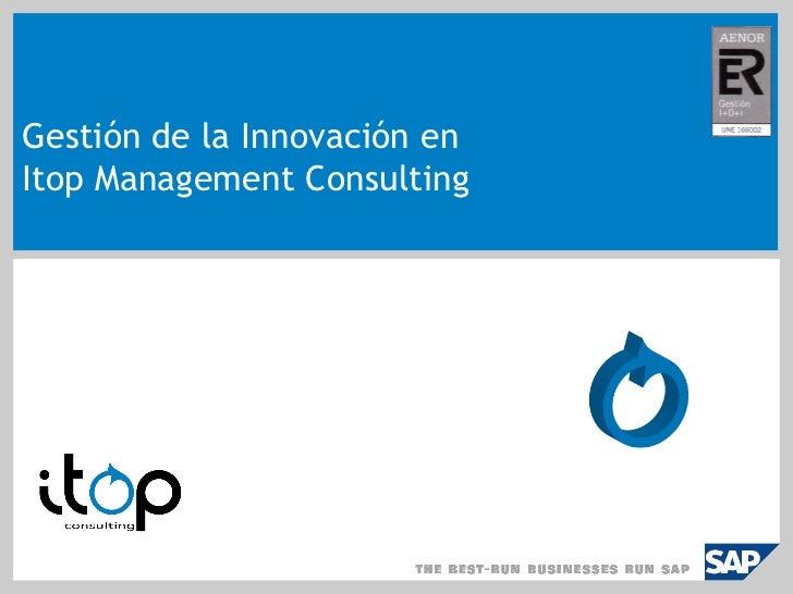 Evento Empresas Innovadoras   Itop Management Consulting