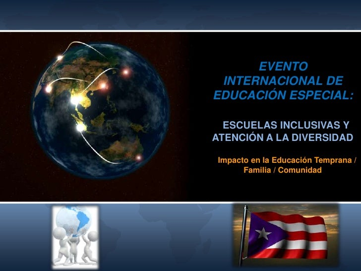 Evento Internacional de Educación Especial 2012