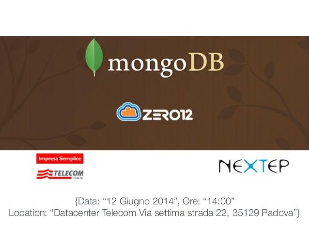 Overview di MongoDB