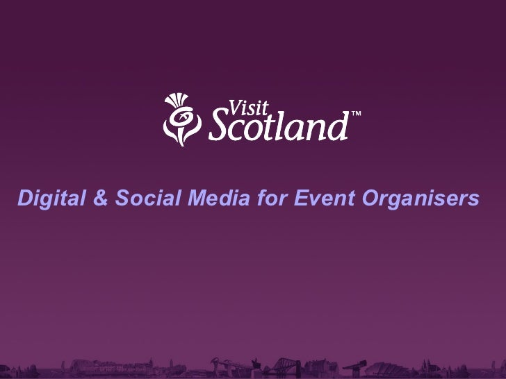 Digital & Social Media for Event Organisers