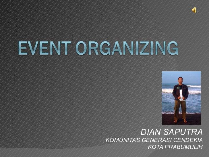 Event Organizing