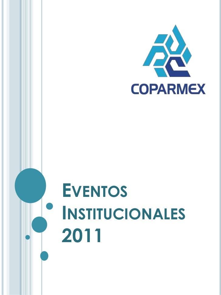 Eventos cpmx 2011