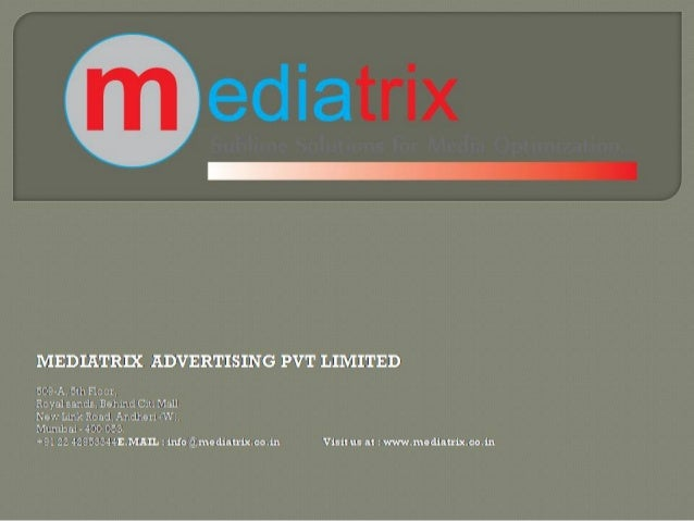 Event Management Company ~ Mediatrix Advertising