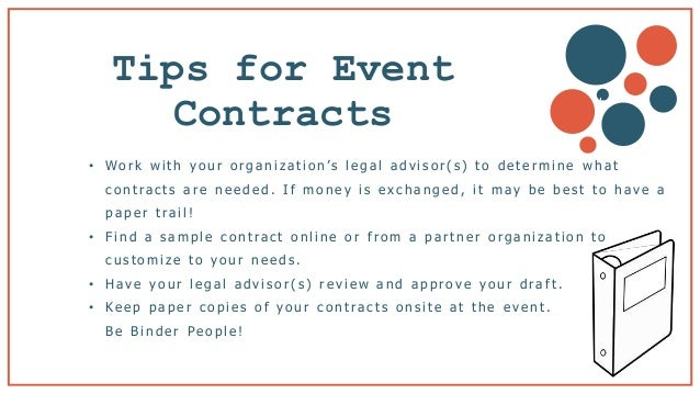 Sample Contracts For Event Planners Google Search. Event Planner