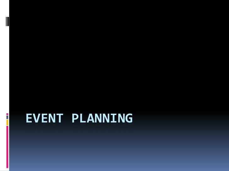 Event Planning<br />