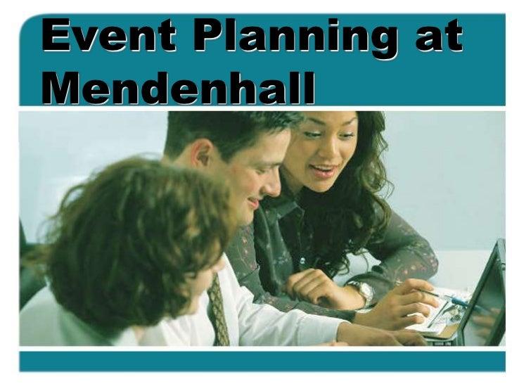 Event Planning Workshop 2011 at East Carolina University