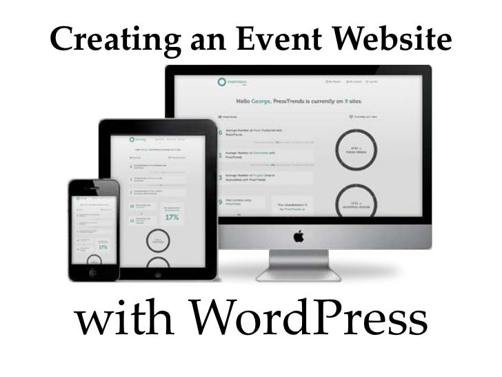 Creating an Event Website with WordPress