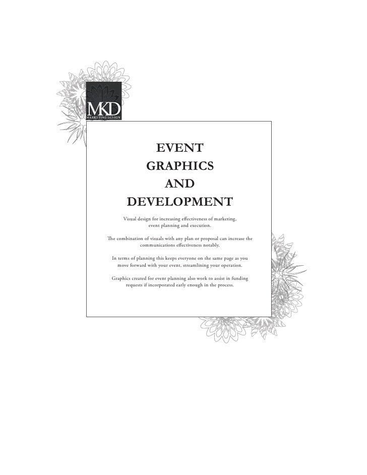 EVENT            GRAPHICS              AND          DEVELOPMENT        Visual design for increasing effectiveness of market...