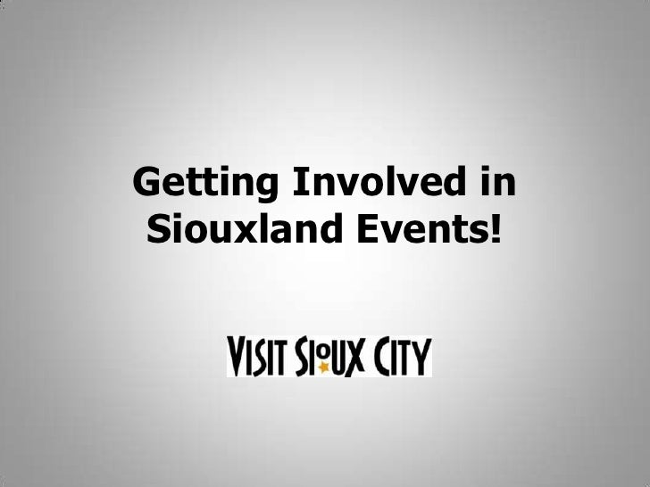 Getting Involved in Siouxland Events!<br />
