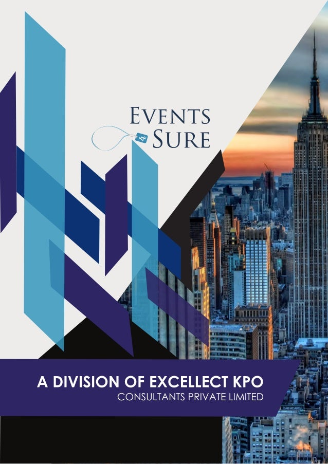 Events 4 Sure brochure