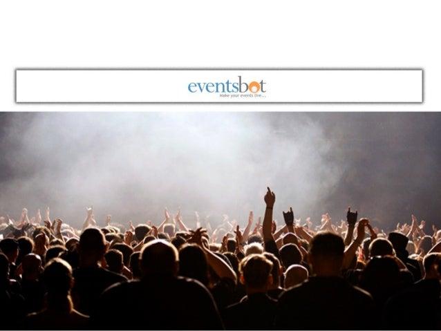 Eventsbot.com - Online Event Registration Service & Online Ticketing Solutions