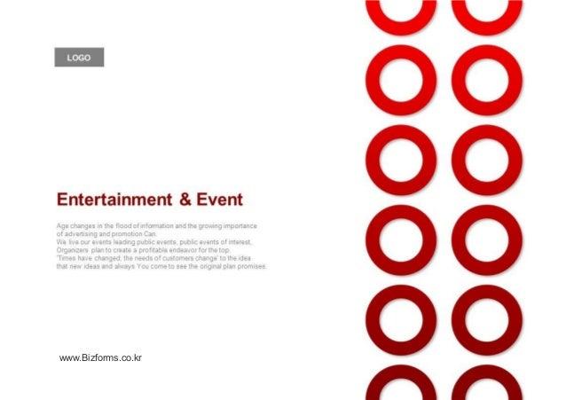 [디자인 제안서] Events, entertainment planning, proposal (ppt template, company profile)
