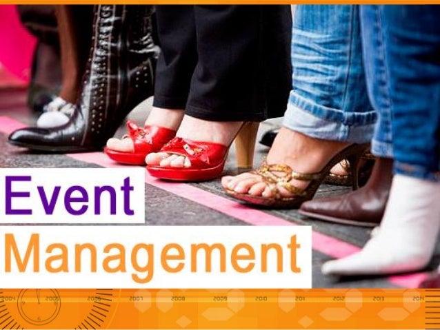 Events Management: The Basics