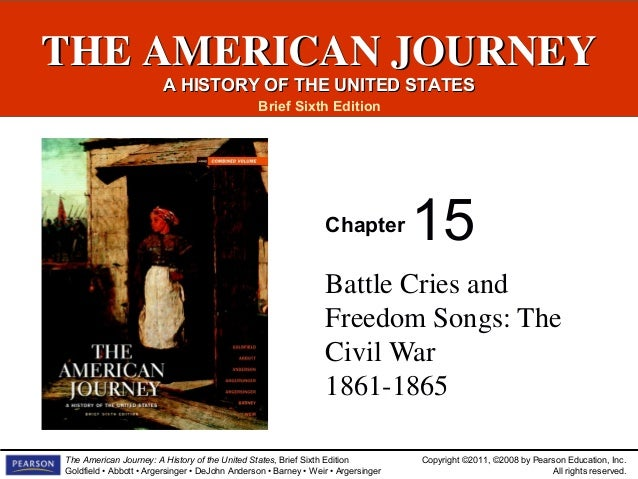 Events Of The Civil War Slideshow Chapter 15