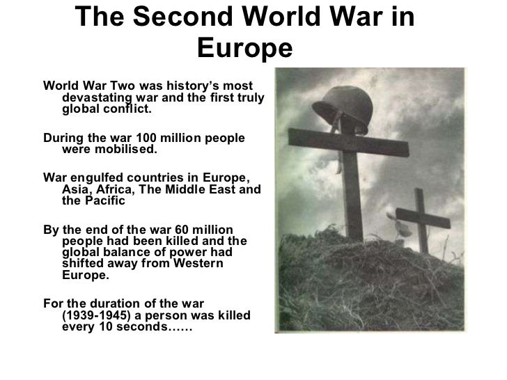 Events of world war two