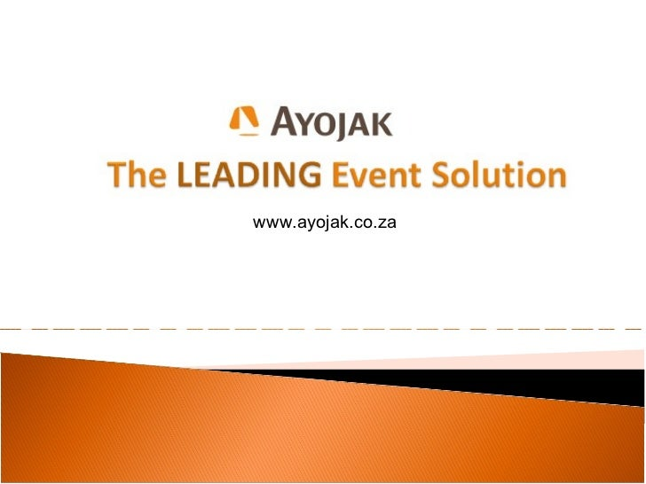 Event solutions by ayojak
