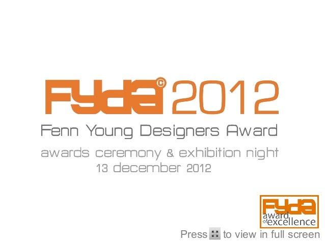 FYDA 2012 Awards Night
