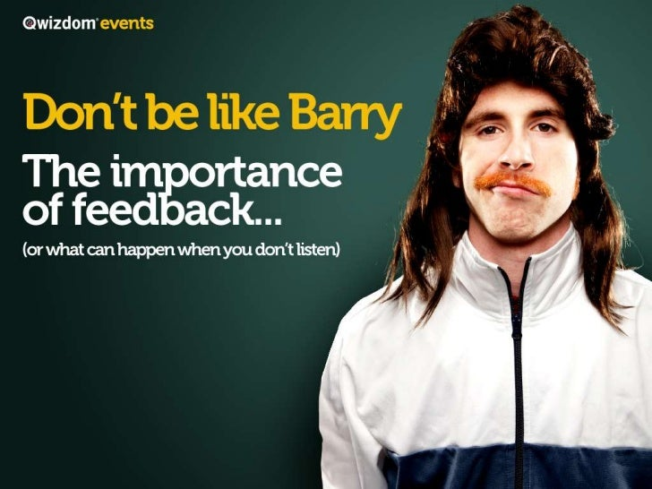 Don't Be Like Barry