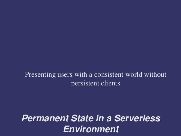 Event System Presentation