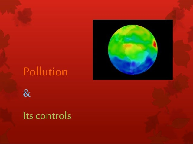 pollution and control