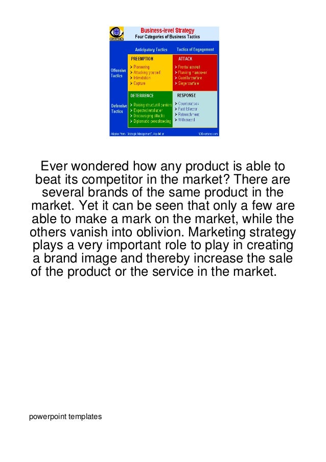 Ever wondered how any product is able to beat its competitor in the market? There are  several brands of the same product ...