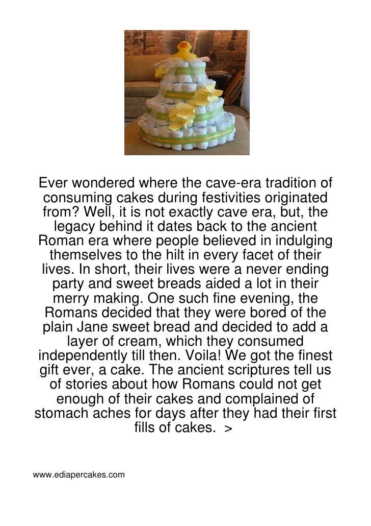 Ever wondered where the cave-era tradition of  consuming cakes during festivities originated  from? Well, it is not exactl...