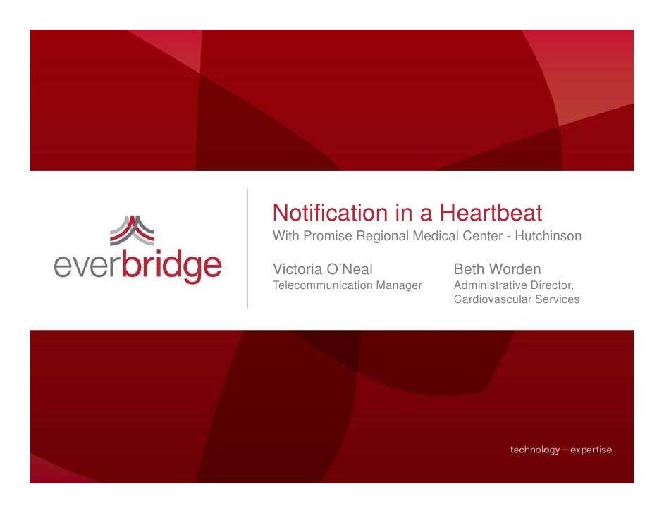 Everbridge: Notification in a Heartbeat