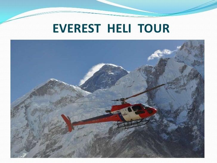 EVEREST  HELI  TOUR<br />