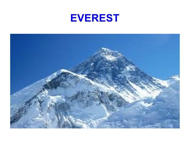 Everest maddi bo eta ander
