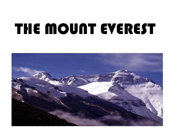 mount everest case