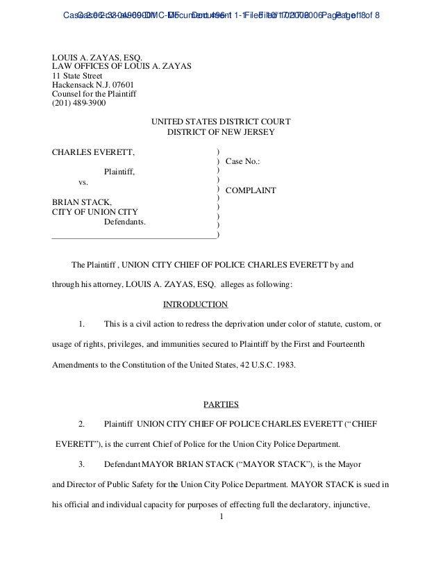 Case 2:06-cv-04969-DMC-MF Document 1-1 Filed 10/17/2006 Page 1 of 8 Case 2:33-av-00001 Document 496-1 Filed 10/17/2006 Pag...