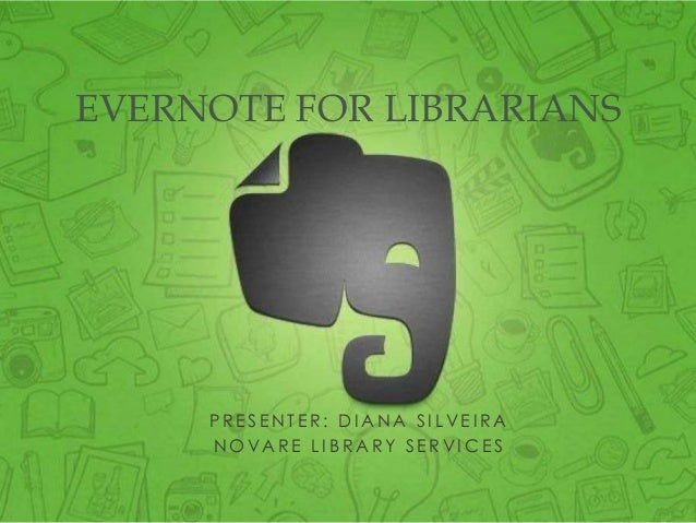 Evernote for Librarians